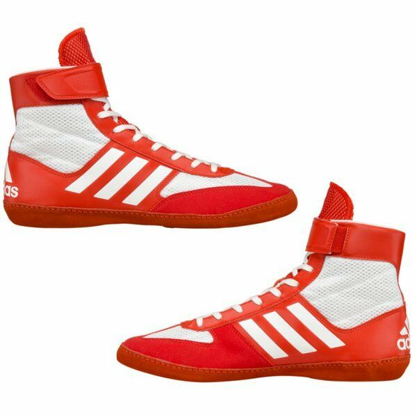Adidas Combat Speed 5 Wrestling Boxing shoes Boots Red White