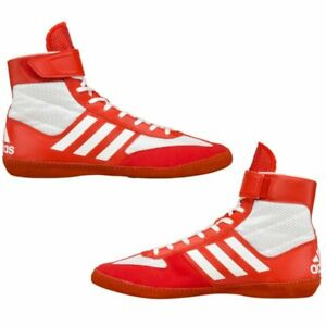 Details about adidas Combat Speed 5 Wrestling Boxing Shoes Boots Red/White