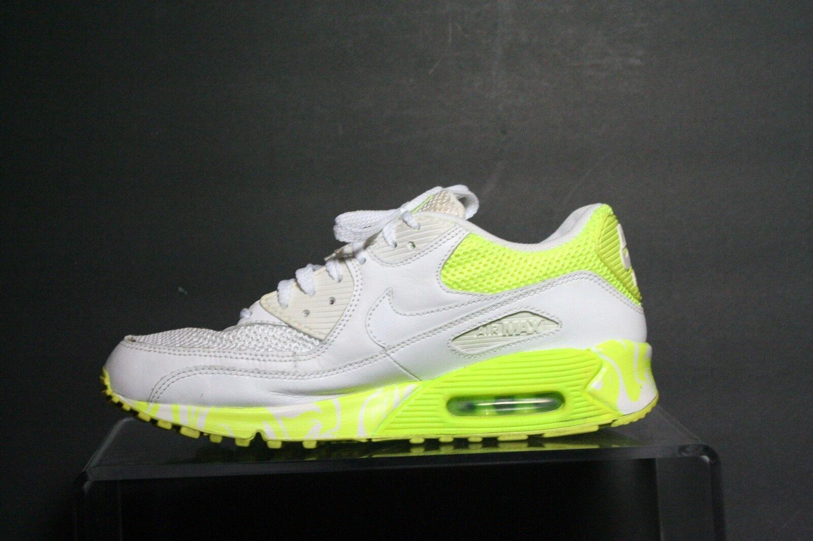 Nike Air Max 90 90 90 Retro 08' Sneaker Running Multi Volt Hip Neon Size 9.5 Athletic 07ec27
