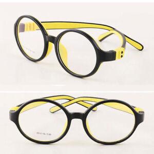 a8d8037c999 Child s Children Round Eyeglasses Frames Girl Boy Flexible Glasses ...