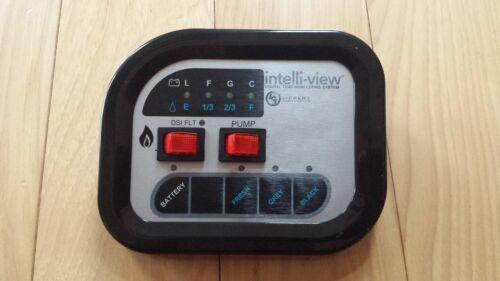 Intelli-view 3Tank Monitor Panel LCI RV CAMPER MOTORHOME LIPPERT