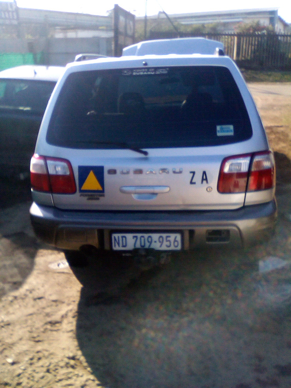 Subaru forester 2002 breaking for parts  | City Centre | Gumtree  Classifieds South Africa | 264309179