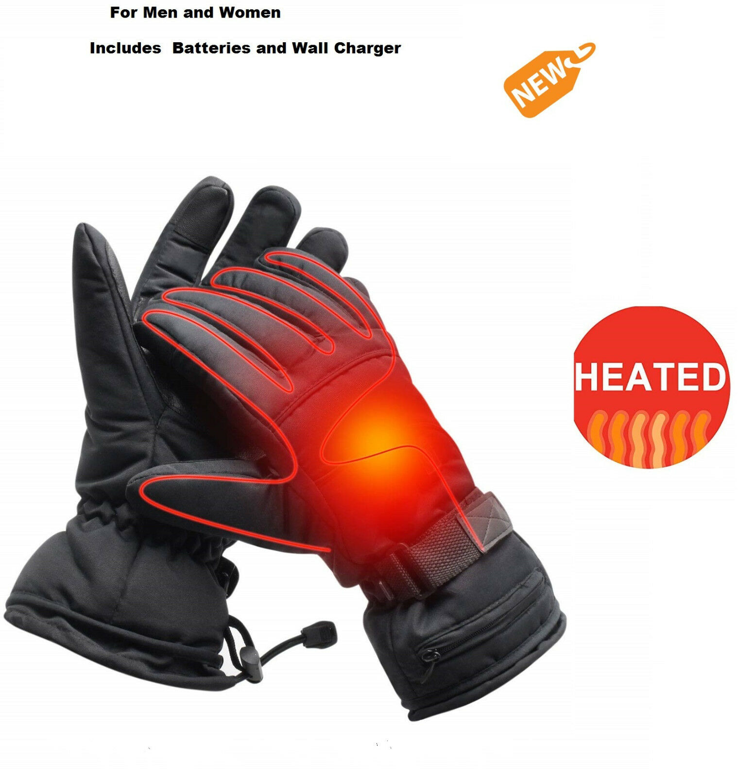 Electric Heated G s Men  Women Winter Hand Warmer  with 3.7V BATTERY & CHARGER  team promotions