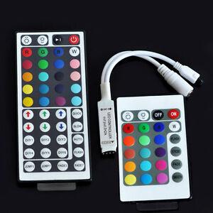 NEW-Mini-44-24-Key-IR-Remote-Controller-DC-12V-For-LED-RGB-5050-3528-Light-Strip