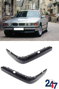 w// PDC Sensor Front Bumper Corner Molding RIGHT fits 1995-2001 BMW 7-Series E38