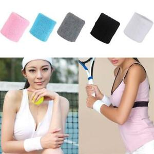 2Pcs-Sports-Basketball-Unisex-Cotton-Sweat-Band-Sweatband-Wristband-Wrist-Band