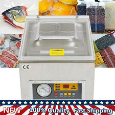 Commercial Vacuum Sealing Amp Packaging Pack Machine Sealer Food Chamber 120w New