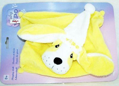 2 x Baby VIPO der fliegende Hund Baby SCHMUSETUCH Schnuffeltuch rosa /& gelb NEU