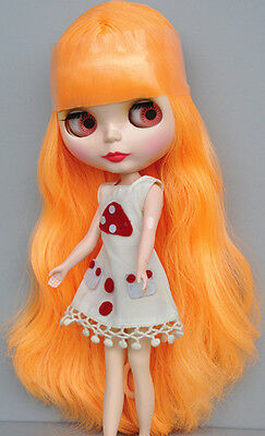 "Takara 12/"" Neo Blythe Doll Long Hair Factory Nude Doll from Factory JSW8007"
