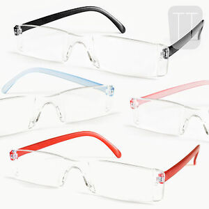 3-PAIRS-NEW-RIMLESS-READERS-READING-GLASSES-STRENGTHS-1-5-2-0-2-50-3-00-3-5