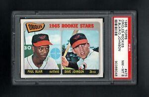 1965-TOPPS-473-ORIOLES-ROOKIE-STARS-BLAIR-JOHNSON-PSA-8-NM-MT-CENTERED