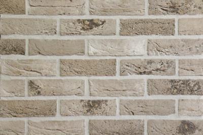 Klinker Hart Arbeitend Handform-verblender Wdf Bh1034 Beige-grau Klinker Vormauersteine