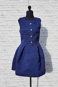 Robe-Patineuse-Elastic-Manoush-Bleu-36-S-T1