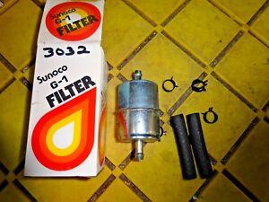[NRIO_4796]   SUNOCO G-1 GAS FUEL FILTER IN BOX FRAM G1 3/8