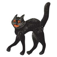 Beistle Jointed Scratch Cat, 20-1/2-inch, New, Free Shipping
