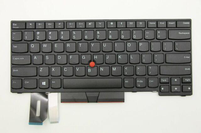 Genuine Lenovo ThinkPad T490 T495 T480s E480 E490 L380 L480 US Keyboard 01YP240