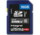 Integral 16GB UltimaPro SDHC Card