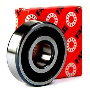 6005-25x47x12mm-2RS-Rubber-Sealed-FAG-Radial-Deep-Groove-Ball-Bearing