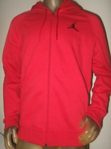 Men s Lg Nike Air Jordan Basketball Flight Fleece Full Zip Hoodie ... 8f4569aec
