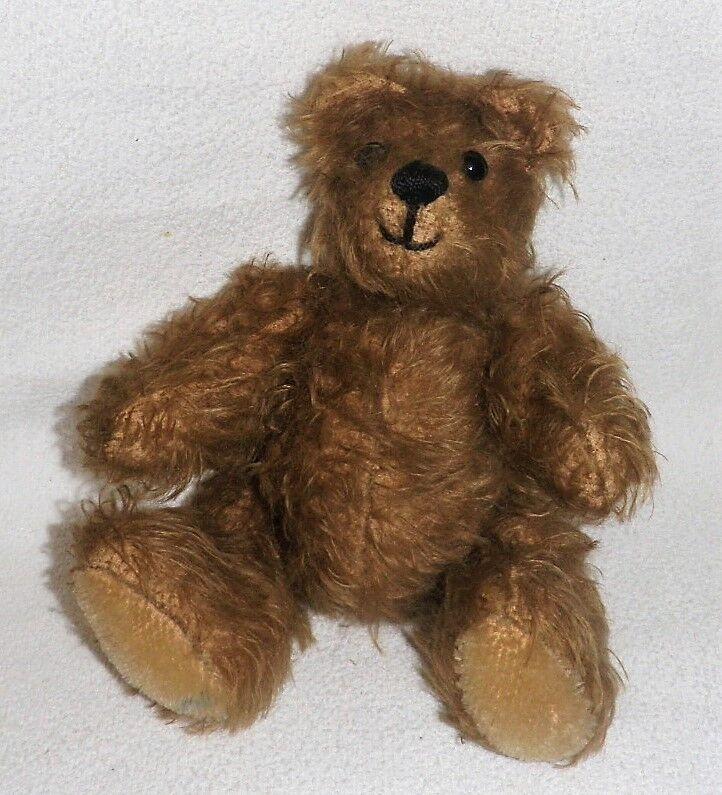 Teddybär Handarbeit 5 Gelenke 27 cm mittelbraun sehr guter Zustand und echt süß