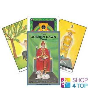 THE-GOLDEN-DAWN-TAROT-KARTEN-DECK-ESOTERIC-TELLING-US-GAMES-SYSTEMS-NEU