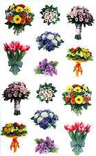 Mrs Photo Hydrangea Stems 2 Strips Pink Flowers Grossman/'s Giant Stickers