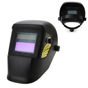Solar Automatic Darkening Welding Grinding Helmet Hood Mask ED