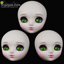AngelGate OOAK Doll Head ANNA fit for Obitsu,Pullip Body