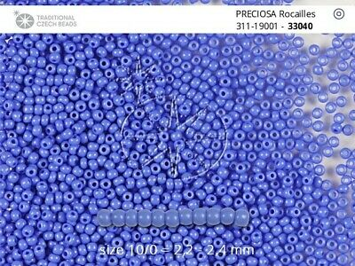 CLEARANCE 0.5 kg Czech Preciosa Rocaille 11//0 Seed Beads Color 91000 Wholesale