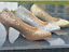 NEW-LADIES-SPARKLY-GLITTER-LOW-HEEL-COURT-FULL-TOE-SHOES-PUMPS-PARTY-PROM-3-8 thumbnail 3