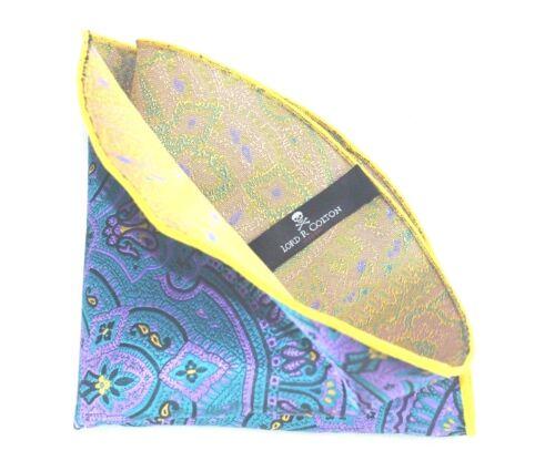 Museu Emerald Silk $75 Retail New Lord R Colton Masterworks Pocket Round