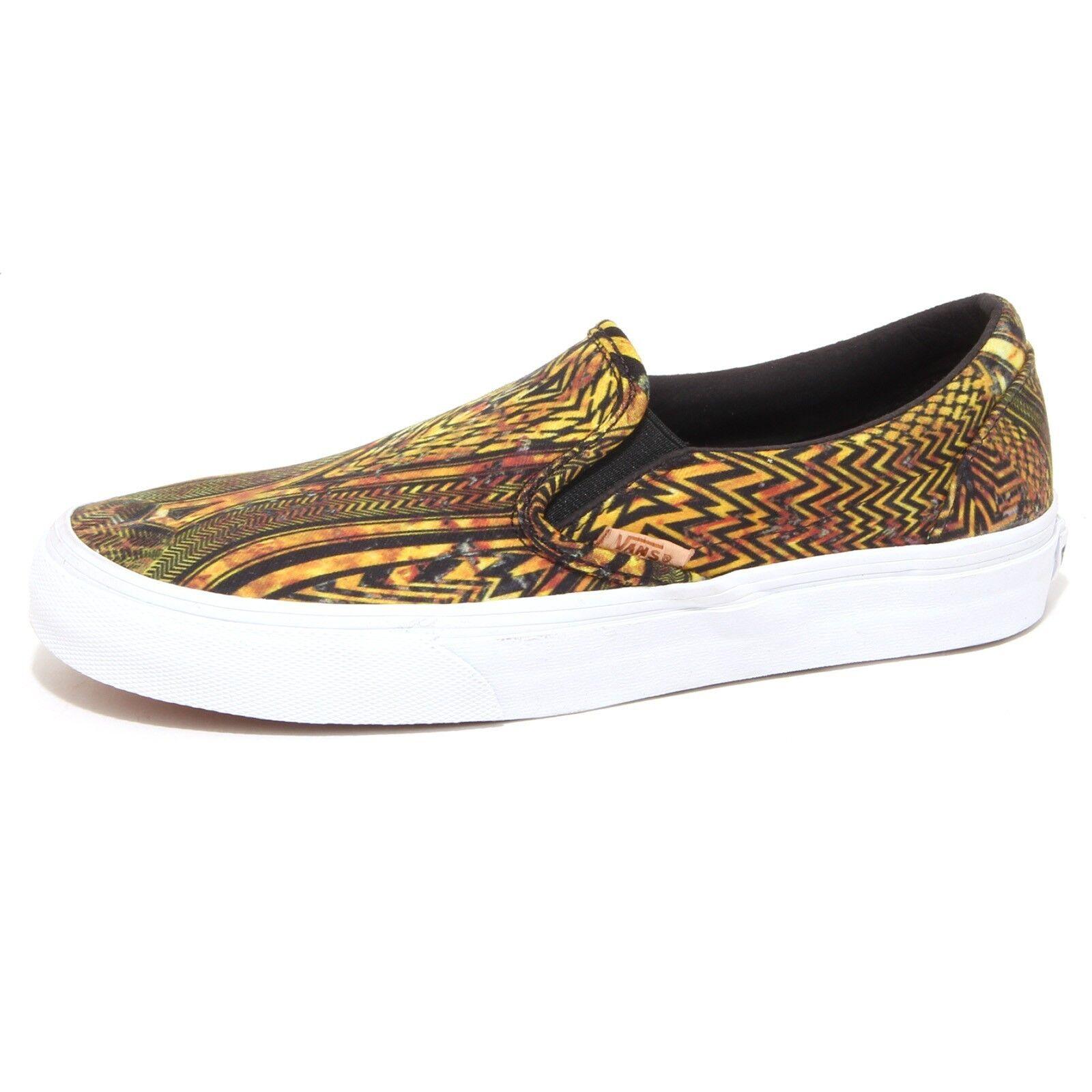 7924P 7924P 7924P scarpe da ginnastica VANS SLIP-ON giallo nero scarpa donna scarpe woman b3f372