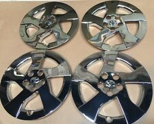 """Set of 4 Chrome 16"""" Hubcap Wheel Cover  2010 11 Toyota Prius New 61156 Hubcaps"""