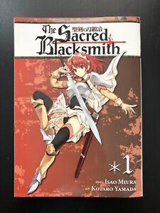 1,2,3,4,5,6,7,8,9,10 Manga Graphic Novels Set English Sacred Blacksmith Vol