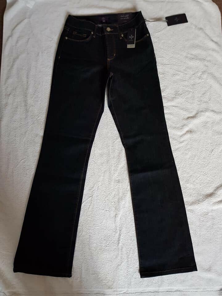 BNWT NYDJ avviocut Jeans Denim Blu Taglia 6 6 6 RRP d3a866
