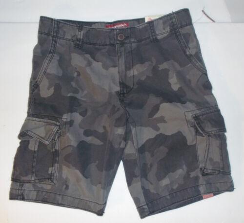 Arizona Jean Co Boys Camo Cargo Shorts Various Husky Sizes  NWT