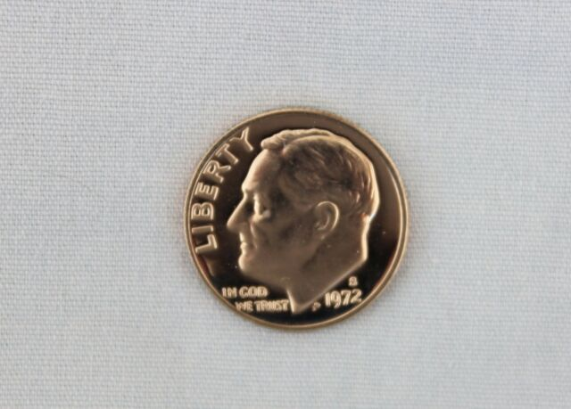 1972-S Roosevelt Clad Proof Dime Cameo