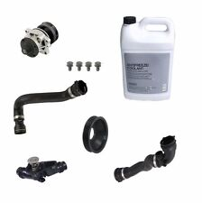 NEW BMW E46 323i 325i 99-06 Coolant Kit With Water Pump Thermostat and Hoses OEM