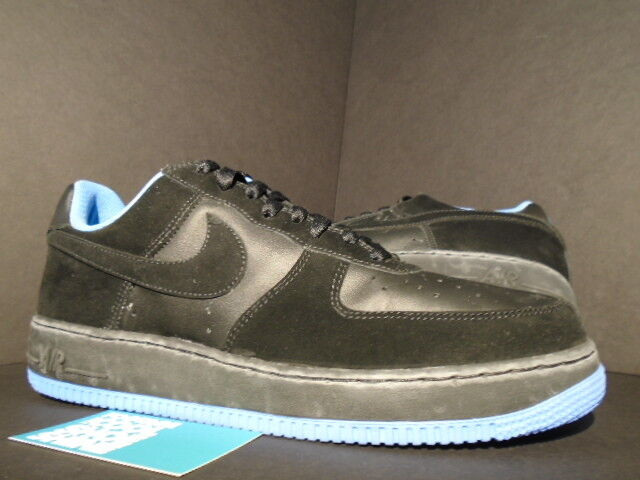 2006 Nike Air UNIVERSITY Force 1 Low Noir UNIVERSITY Air Bleu UNC 313642-005 11 ce7d95