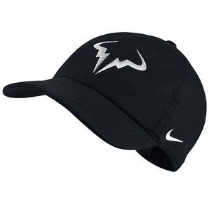 fcb789baa Details about NEW Nike Aerobill H86 RAFA NADAL Hat Cap Bull Logo Dri Fit  Tennis Hat 850666