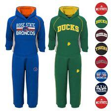 NCAA Team Color (2) Piece Pullover Hoodie Fleece & Pants Set Collection Toddler