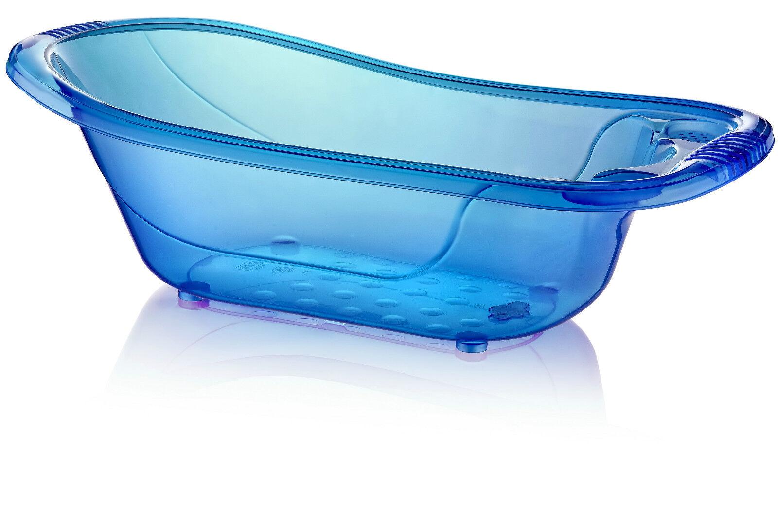 Large 50 Litre Aqua Blue Clear Transparent Baby Bath Tub   eBay