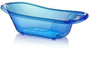Vasca Da Bagno Litri : Large 50 litre aqua blue clear transparent baby bath tub ebay
