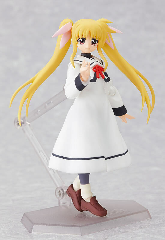 Max Factory figma Magical Girl Lyrical Nanoha Fate Testarossa School Figure