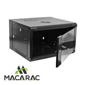 12U-550-WALL-SWING-MOUNT-CABINET-19-034-Rack-Provision-for-2-x-240v-Cooling-Fan