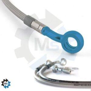 Durite-inox-raccord-bleu-frein-arriere-kawasa-Speedbrakes-tecnium-352311603