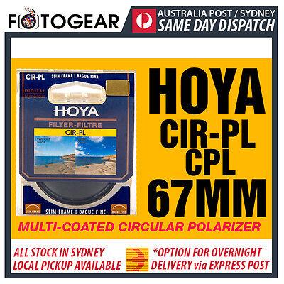 Genuine HOYA CPL 67mm CIR-PL Circular Polarizing Camera Lens Filter Canon Nikon