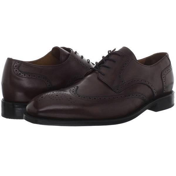 Bostonian  Veldt Wing  Wingtip Leather Oxford, Men's Dress scarpe,10US 44EU 9.5UK