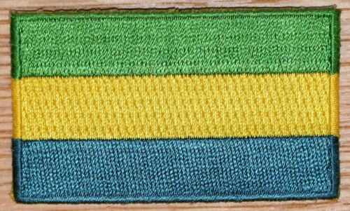 GABON Country Flag Embroidered PATCH Badge