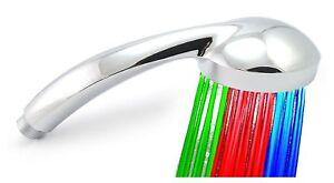 Soffione Doccia Led Multicolore.Dettagli Su Soffione Doccia Led Cromoterapia Per Vasca Da Bagno Con Led Multicolore Soffioni